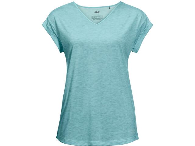 Jack Wolfskin Coral Coast T-Shirt Damen aqua